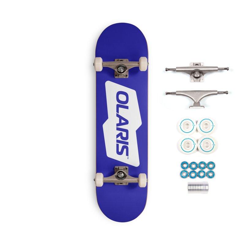 Olaris Logo (White) Accessories Skateboard by DROP