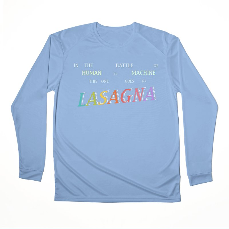This One Goes To Lasagna (RACER TRASH TRIBUTE) Women's Longsleeve T-Shirt by DROP