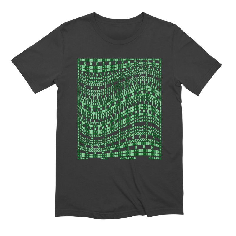 Attack and Dethrone Cinema (RACER TRASH TRIBUTE) Men's T-Shirt by DROP