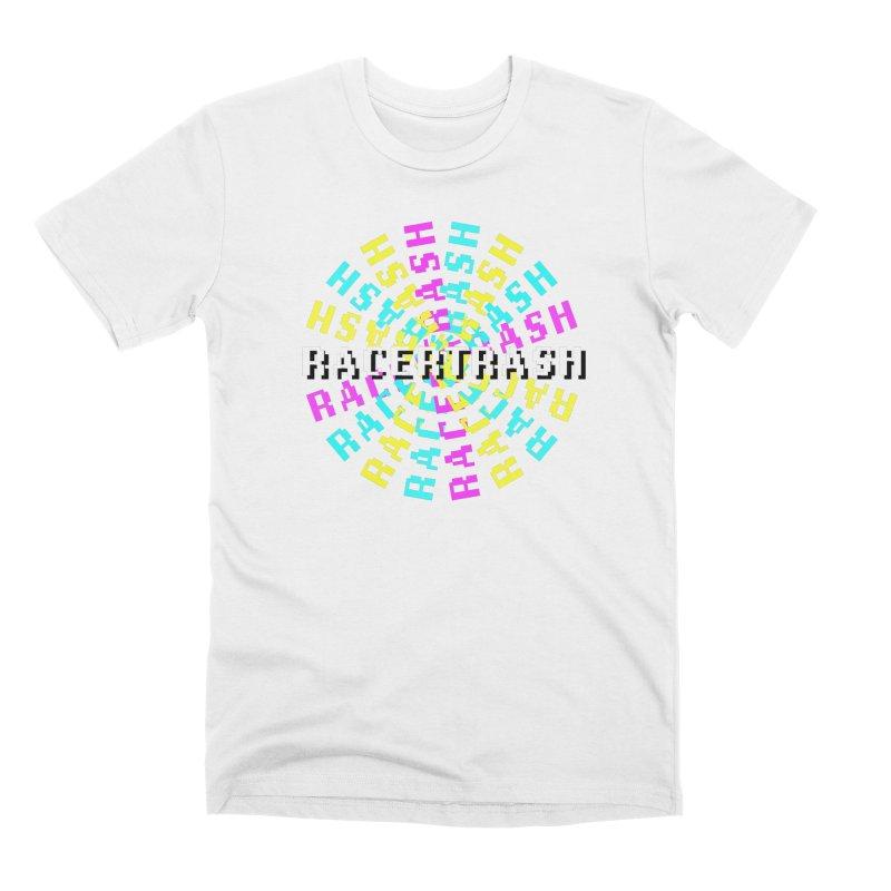 RACER TRASH SPIN (Tribute Art) Men's T-Shirt by DROP