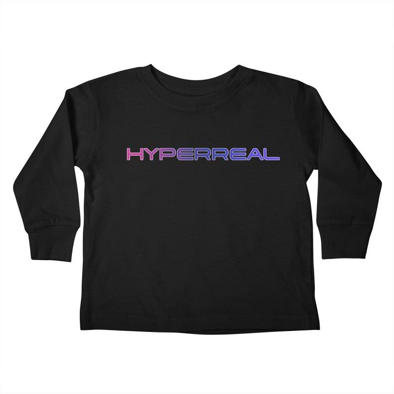 HYPERREAL Kids Toddler Longsleeve T-Shirt by DROP