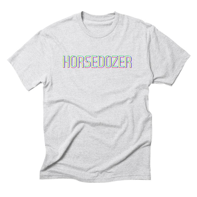 HORSEDOZER RGBCMY Men's T-Shirt by DROP