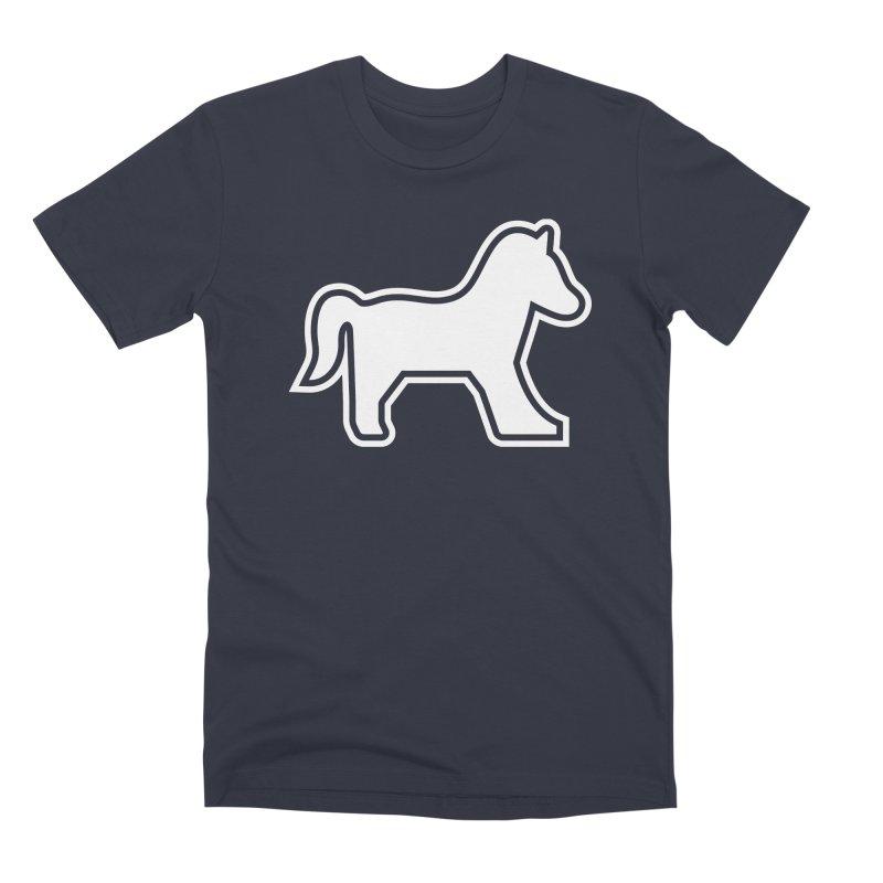 Horsedozer Logo Men's T-Shirt by DROP