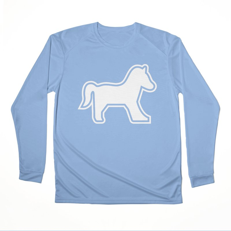 Horsedozer Logo Women's Longsleeve T-Shirt by DROP