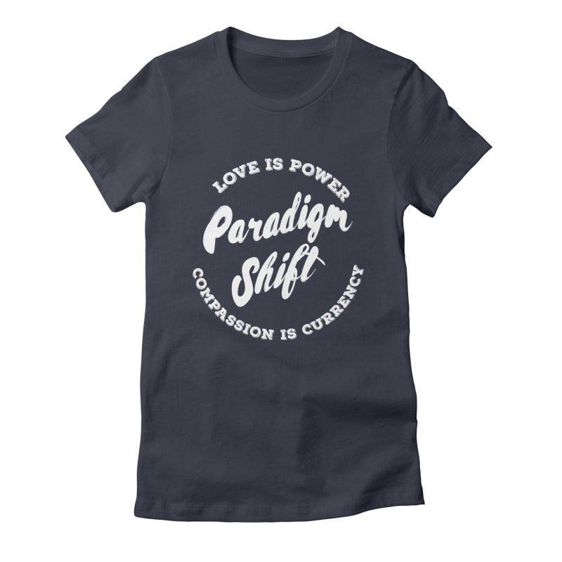 Shift Women's Fitted T-Shirt by donvagabond's Artist Shop