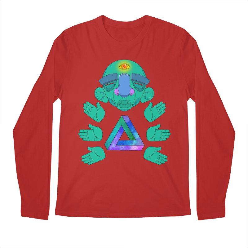 Meta Medi Men's Longsleeve T-Shirt by donvagabond's Artist Shop