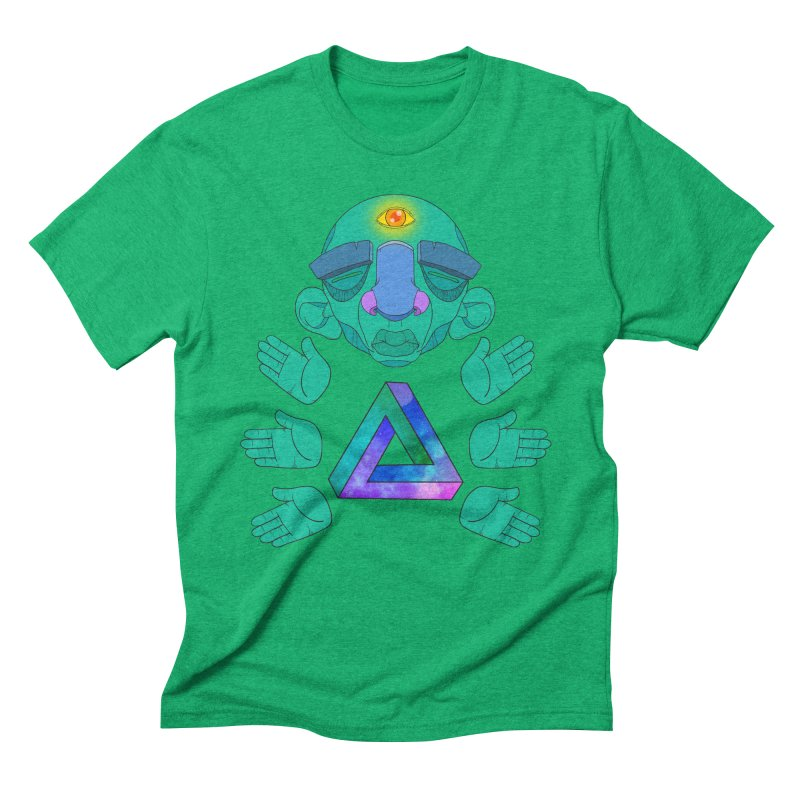 Meta Medi Men's Triblend T-Shirt by donvagabond's Artist Shop