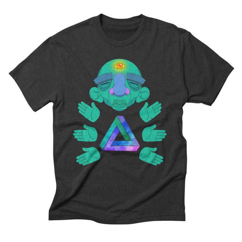 Meta Medi Men's Triblend T-Shirt by donvagabond's Artist Shop