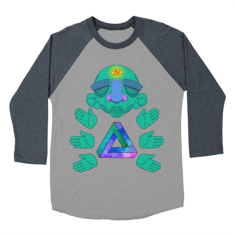 Meta Medi Women's Baseball Triblend T-Shirt by donvagabond's Artist Shop