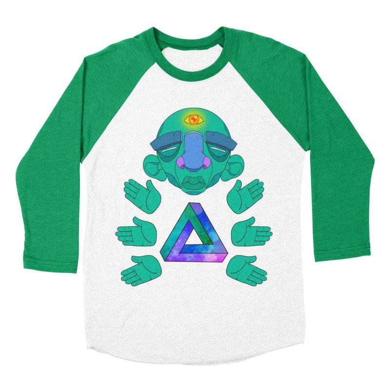 Meta Medi Men's Baseball Triblend T-Shirt by donvagabond's Artist Shop
