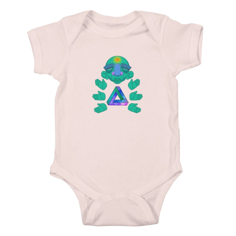 Meta Medi Kids Baby Bodysuit by donvagabond's Artist Shop