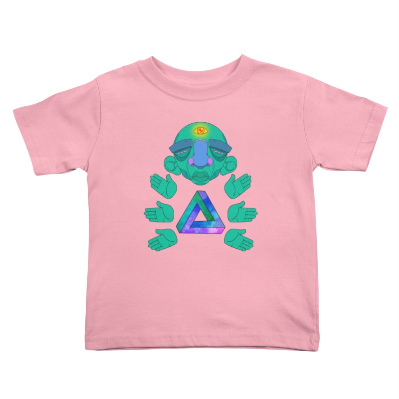 Meta Medi Kids Toddler T-Shirt by donvagabond's Artist Shop