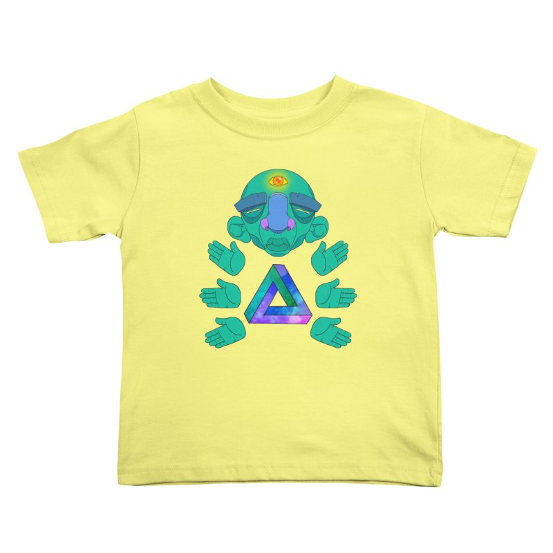 Meta Medi Kids Toddler T-Shirt by donvagabond's Artist Shop