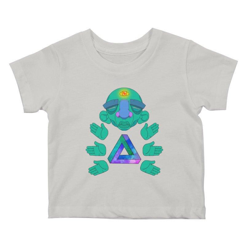 Meta Medi Kids Baby T-Shirt by donvagabond's Artist Shop