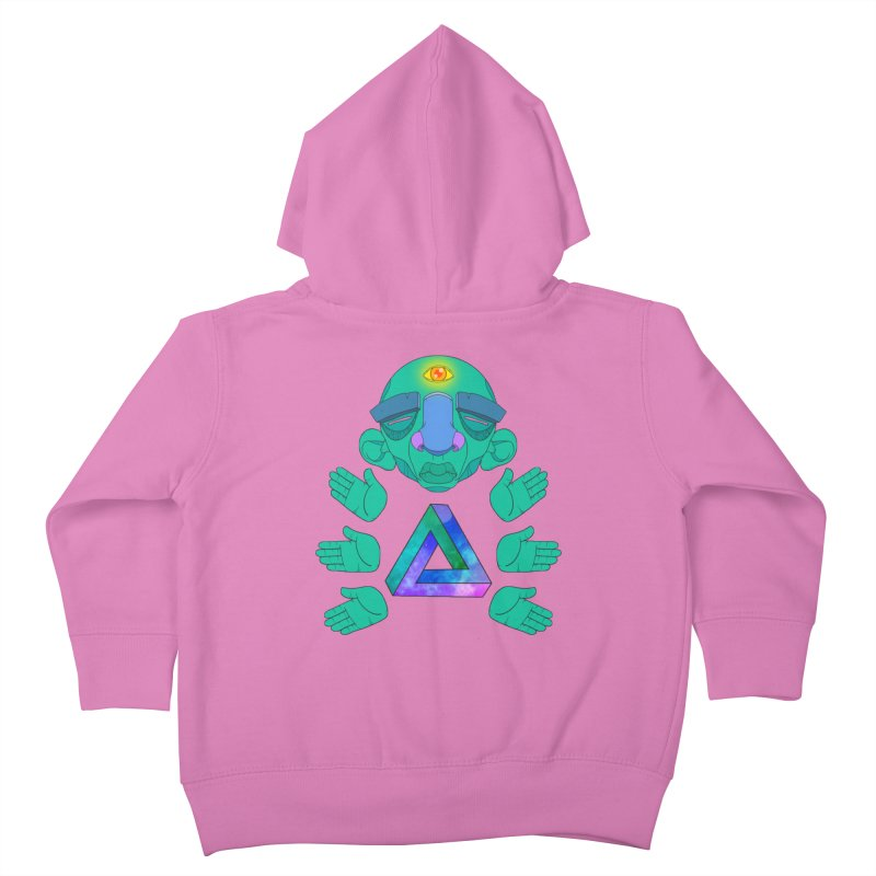 Meta Medi Kids Toddler Zip-Up Hoody by donvagabond's Artist Shop
