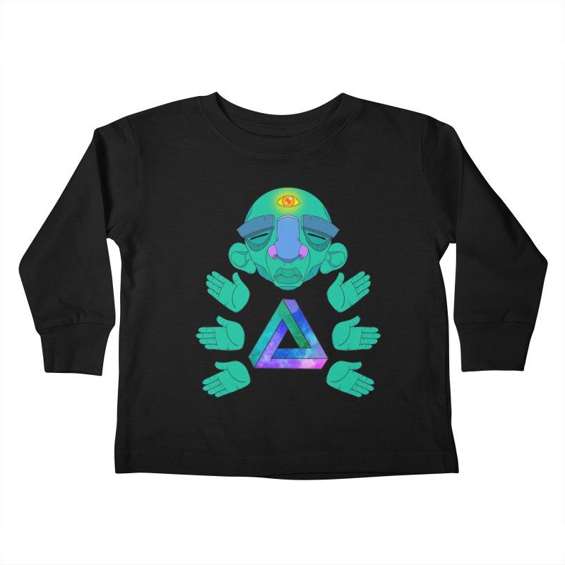 Meta Medi Kids Toddler Longsleeve T-Shirt by donvagabond's Artist Shop