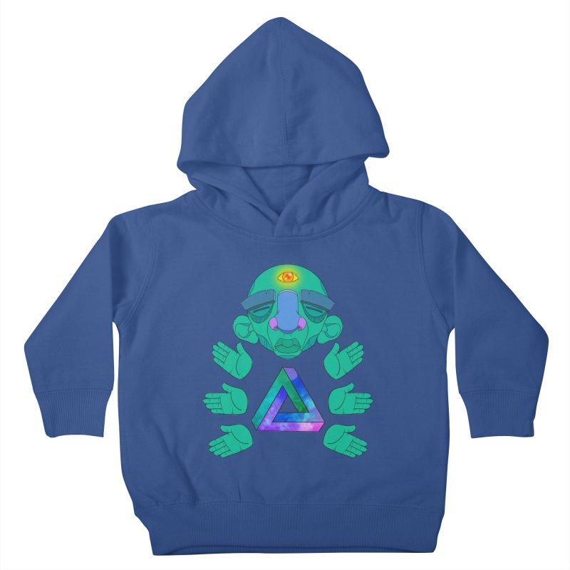 Meta Medi Kids Toddler Pullover Hoody by donvagabond's Artist Shop