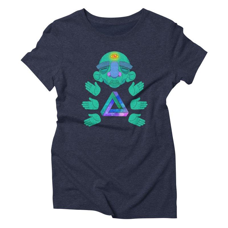 Meta Medi Women's Triblend T-Shirt by donvagabond's Artist Shop