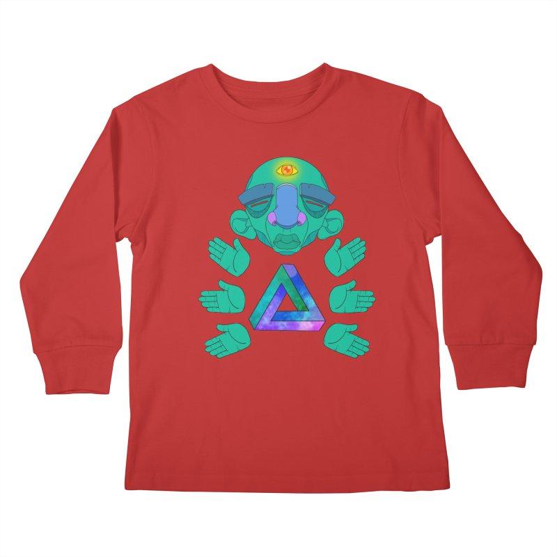 Meta Medi Kids Longsleeve T-Shirt by donvagabond's Artist Shop