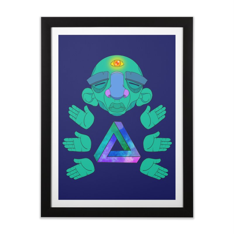 Meta Medi Home Framed Fine Art Print by Don Vagabond's Artist Shop