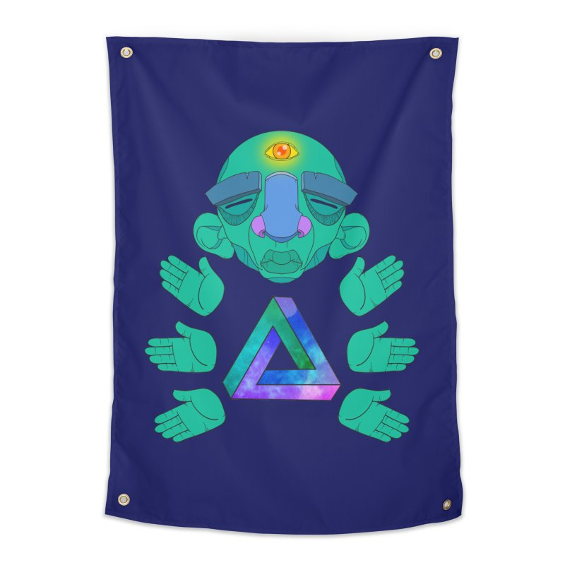 Meta Medi Home Tapestry by donvagabond's Artist Shop