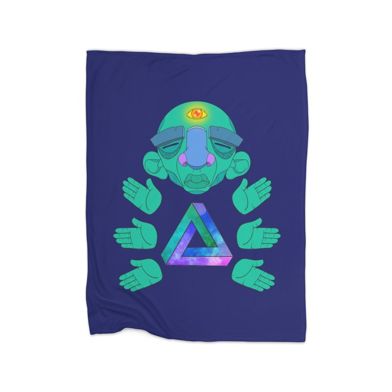 Meta Medi Home Blanket by Don Vagabond's Artist Shop