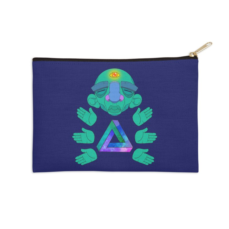 Meta Medi Accessories Zip Pouch by donvagabond's Artist Shop