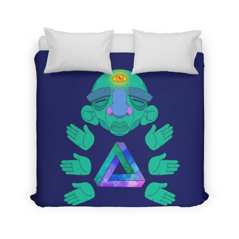 Meta Medi Home Duvet by Don Vagabond's Artist Shop