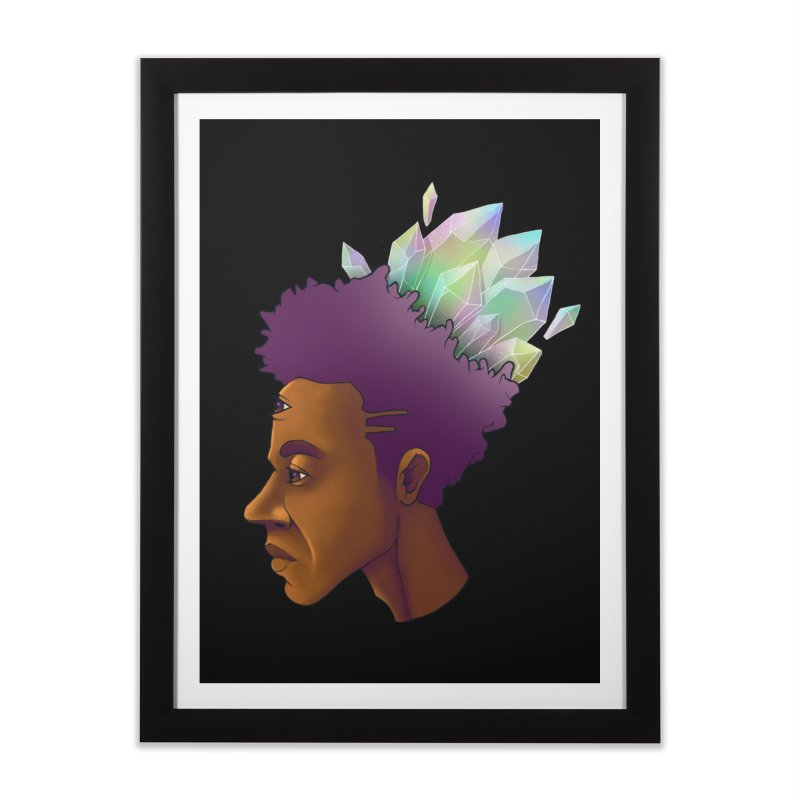 Crown Jewel Home Framed Fine Art Print by donvagabond's Artist Shop