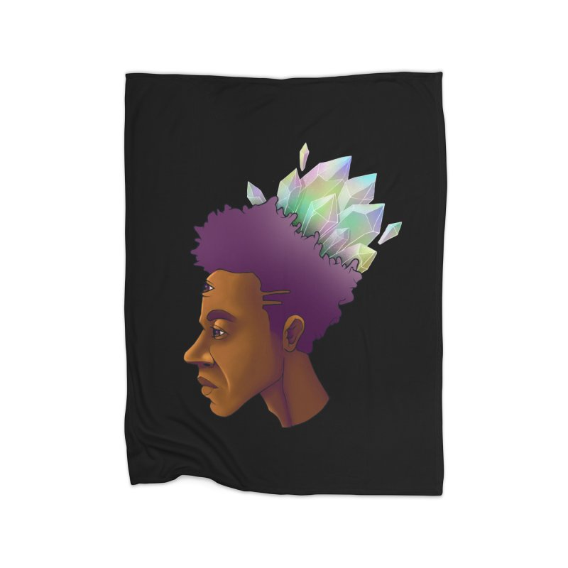 Crown Jewel Home Blanket by donvagabond's Artist Shop