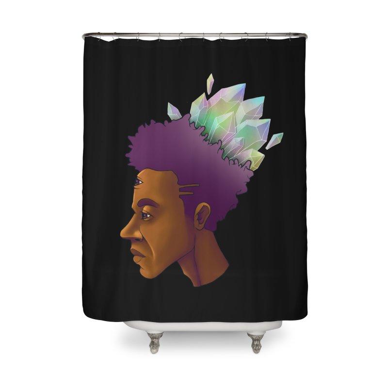 Crown Jewel Home Shower Curtain by donvagabond's Artist Shop