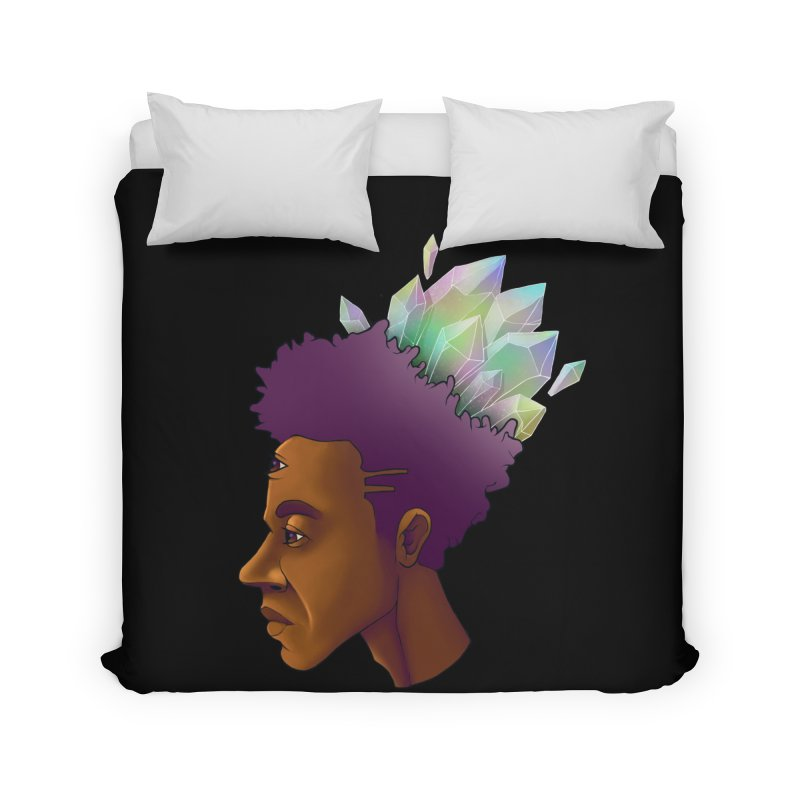 Crown Jewel Home Duvet by donvagabond's Artist Shop