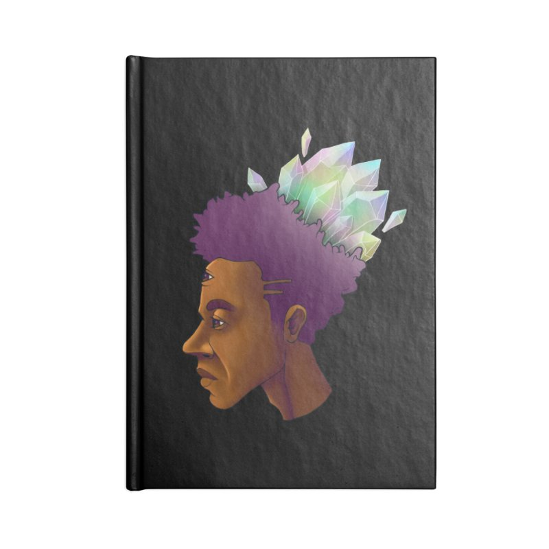 Crown Jewel Accessories Notebook by donvagabond's Artist Shop