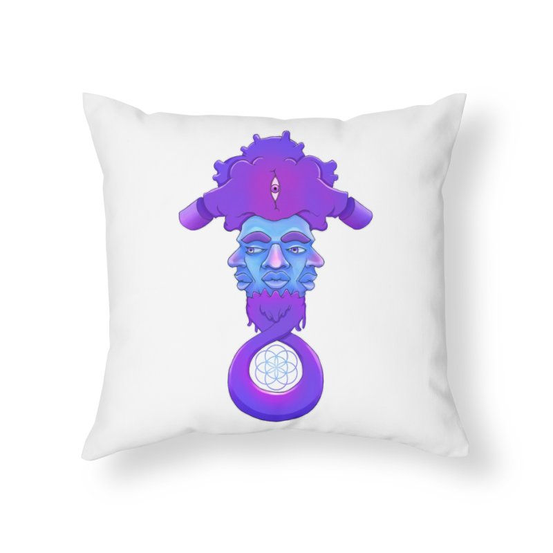 Tribunal Home Throw Pillow by donvagabond's Artist Shop