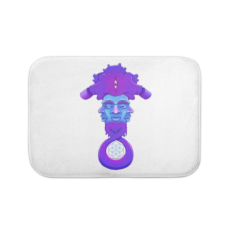 Tribunal Home Bath Mat by donvagabond's Artist Shop