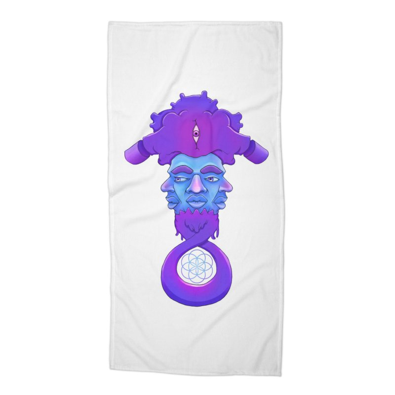 Tribunal Accessories Beach Towel by donvagabond's Artist Shop
