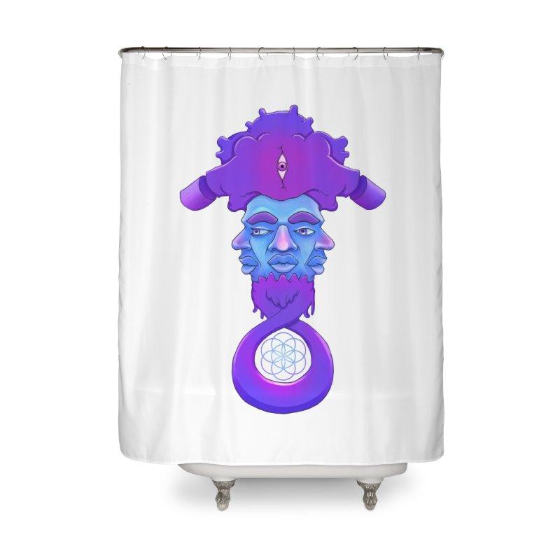 Tribunal Home Shower Curtain by donvagabond's Artist Shop
