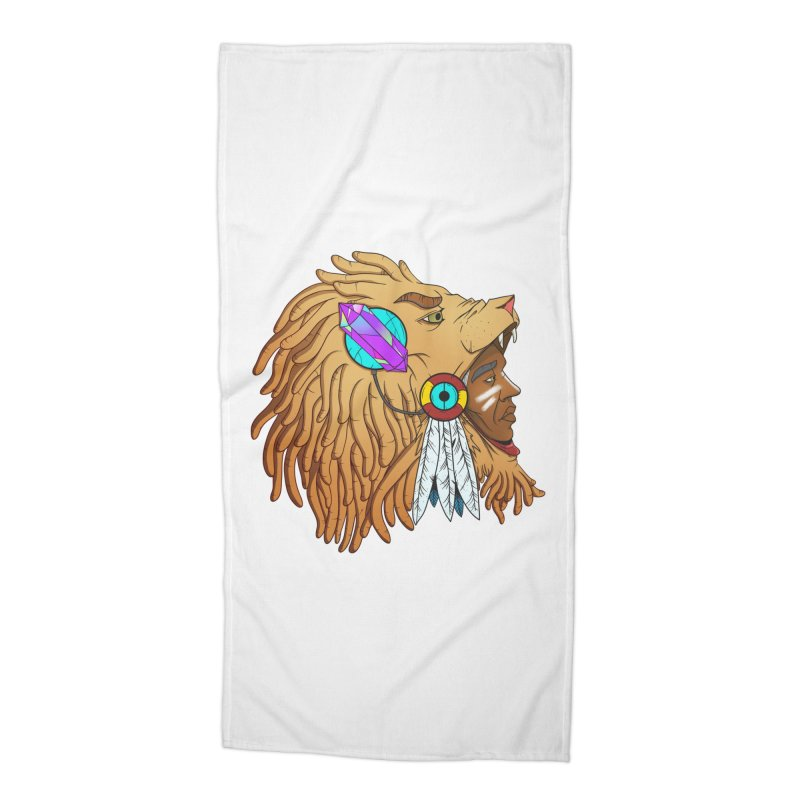 Crystal Shaman Accessories Beach Towel by donvagabond's Artist Shop