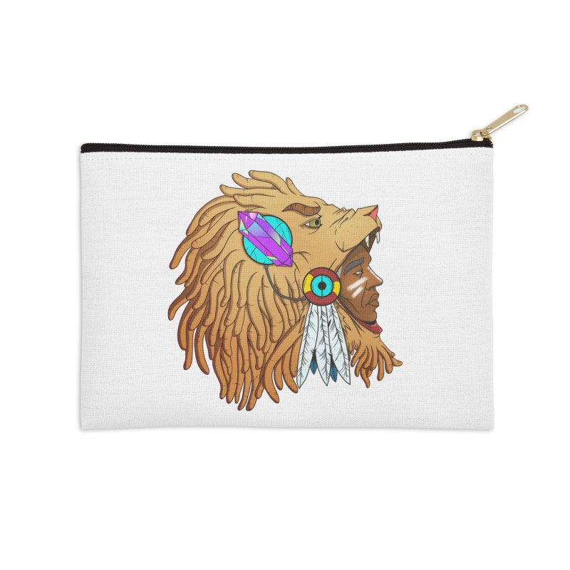 Crystal Shaman Accessories Zip Pouch by donvagabond's Artist Shop