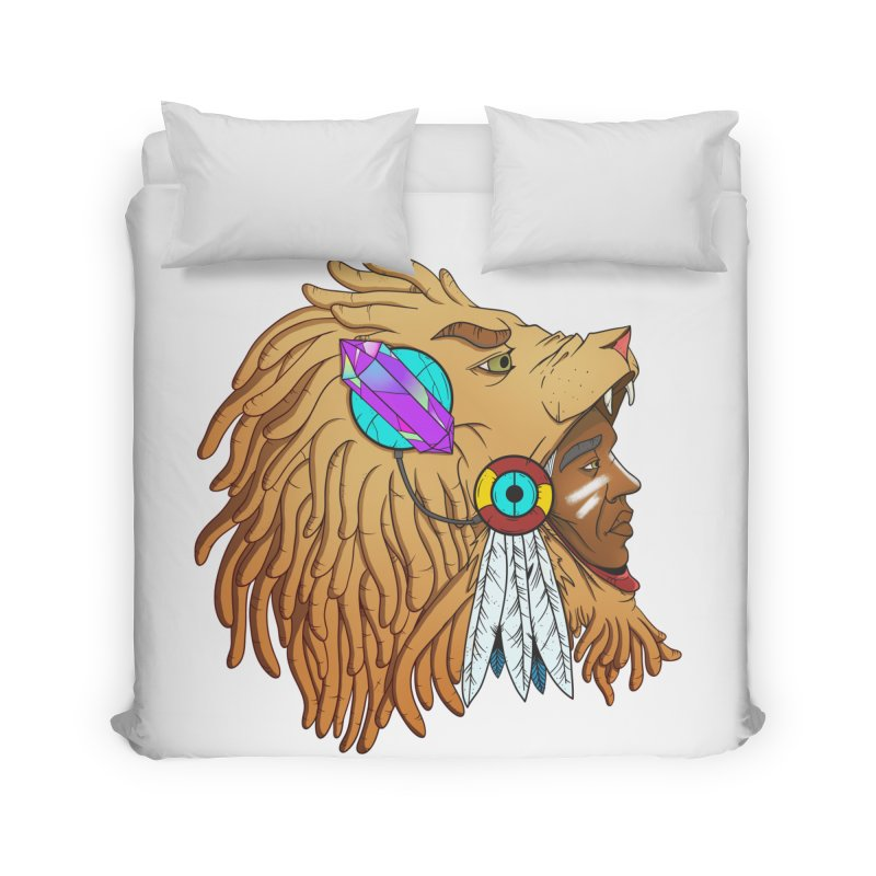 Crystal Shaman Home Duvet by donvagabond's Artist Shop