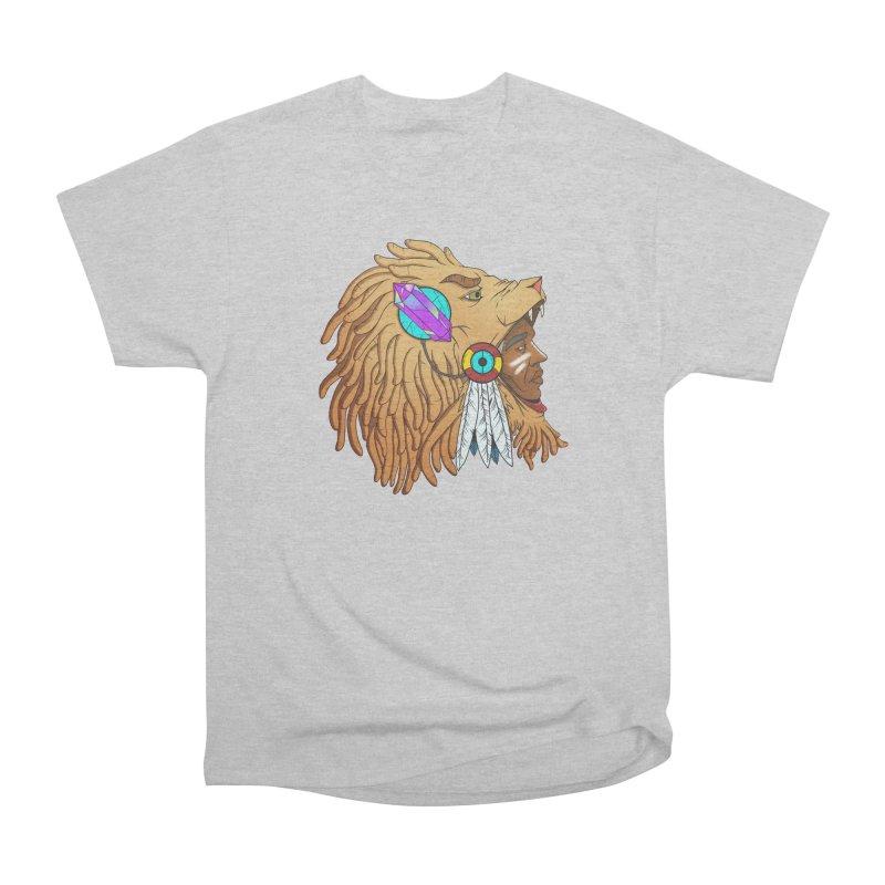 Crystal Shaman Men's Heavyweight T-Shirt by donvagabond's Artist Shop