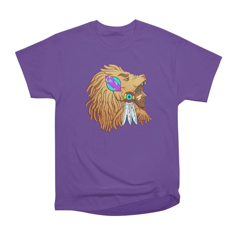 Crystal Shaman Men's Classic T-Shirt by donvagabond's Artist Shop