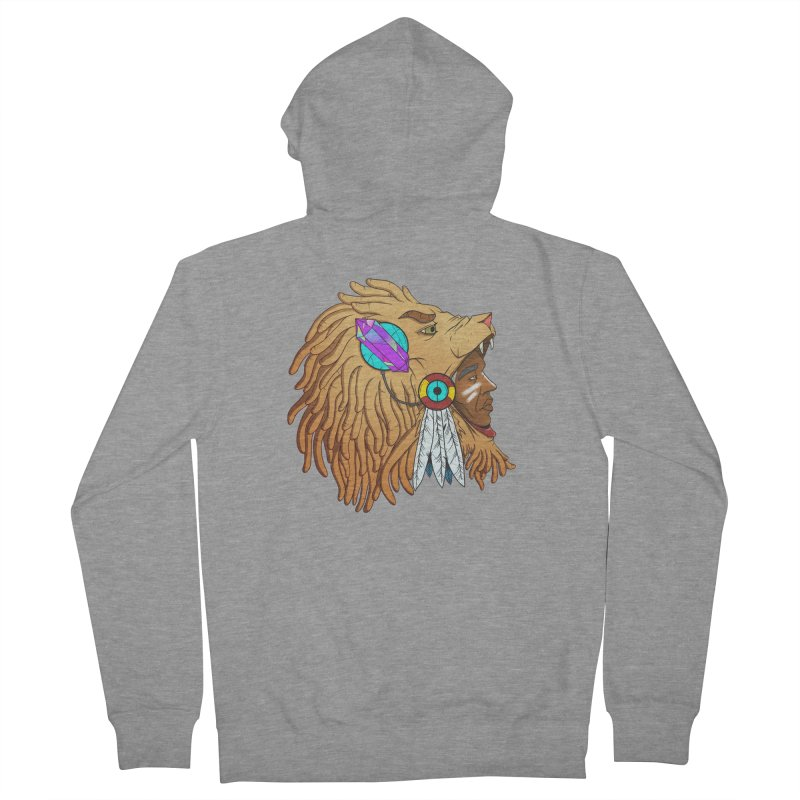 Crystal Shaman Men's Zip-Up Hoody by donvagabond's Artist Shop