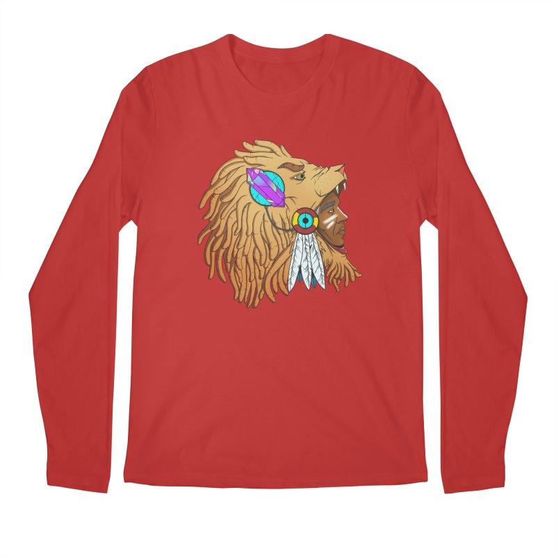 Crystal Shaman Men's Longsleeve T-Shirt by donvagabond's Artist Shop