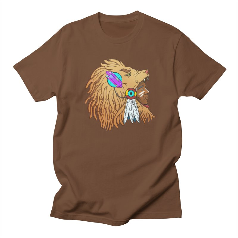 Crystal Shaman Men's T-Shirt by donvagabond's Artist Shop