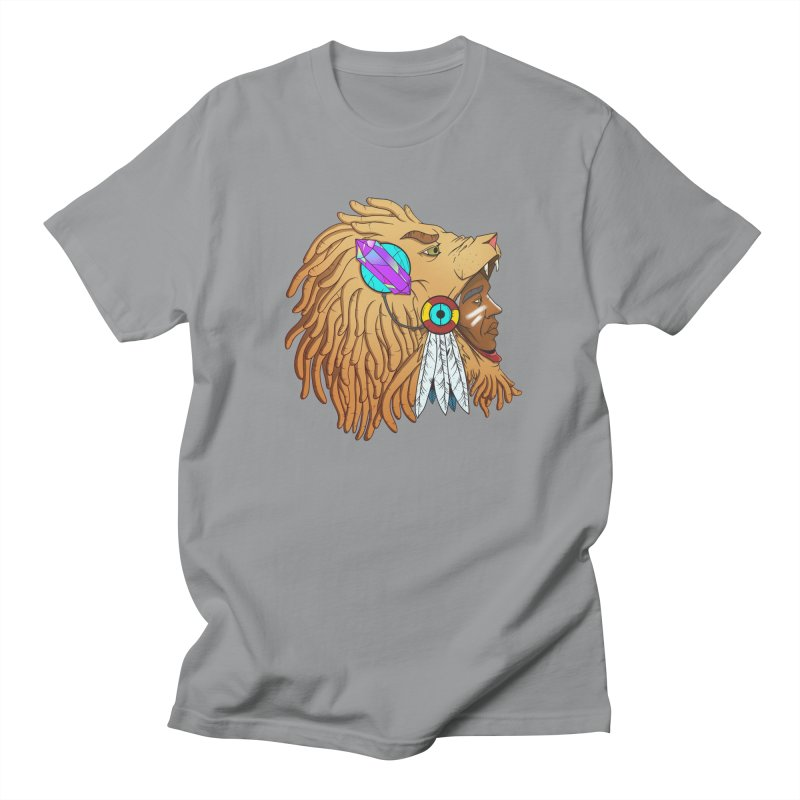 Crystal Shaman Men's T-shirt by donvagabond's Artist Shop
