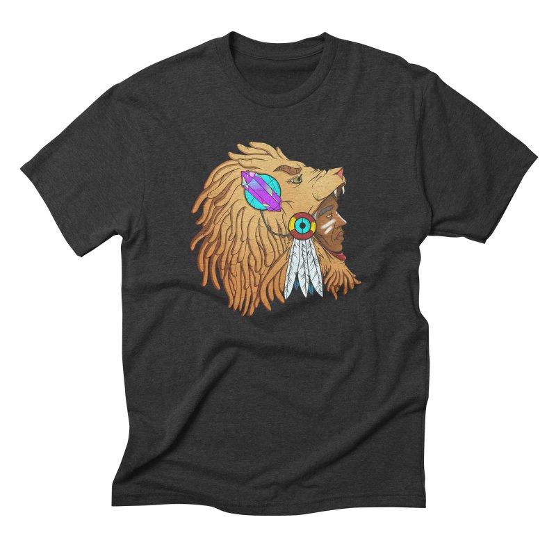 Crystal Shaman Men's Triblend T-shirt by donvagabond's Artist Shop