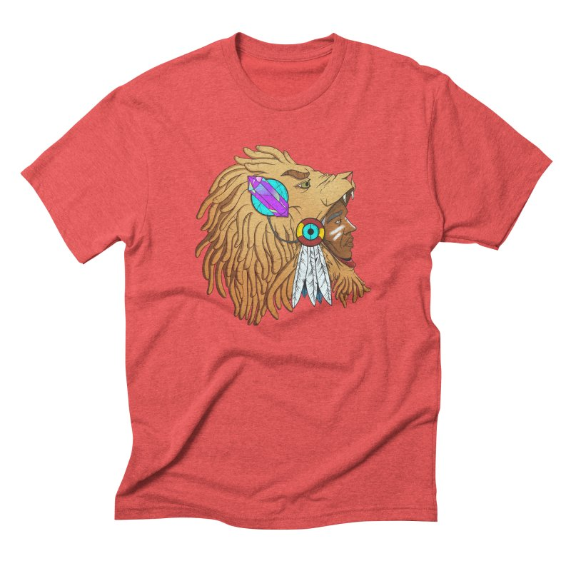 Crystal Shaman Men's Triblend T-Shirt by donvagabond's Artist Shop