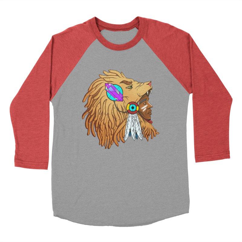 Crystal Shaman Men's Baseball Triblend T-Shirt by donvagabond's Artist Shop