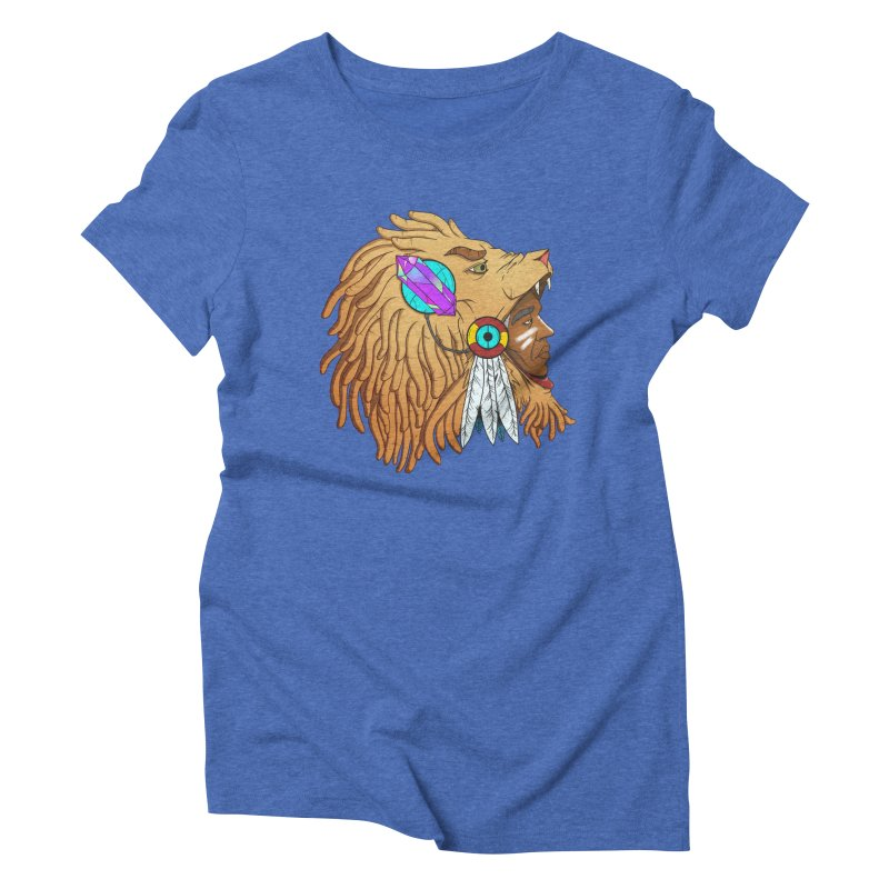 Crystal Shaman Women's Triblend T-shirt by donvagabond's Artist Shop